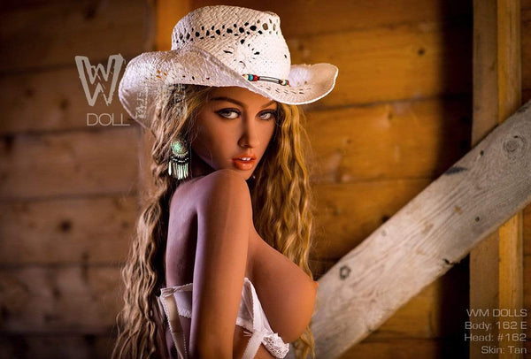 Sex doll WM Dolls 162 cm bonnet E - Jenna la Cow-girl