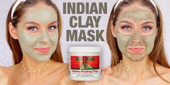 How often can you use Aztec Indian clay mask?