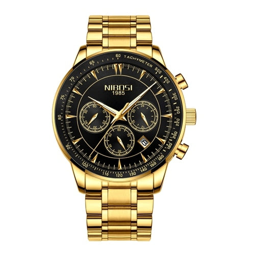 Gold Watch Mens Watches Top Brand Luxury