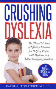 Crushing Dyslexia Book - Paperback