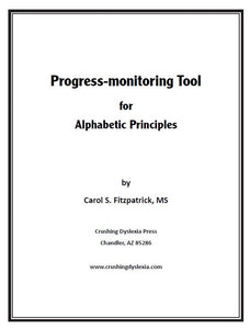 Fitz's Informal Phonics Inventory and Progress-Monitoring Tool