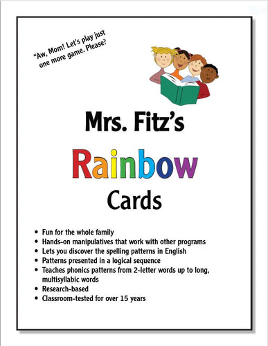 Rainbow Cards (Sets 1-9)