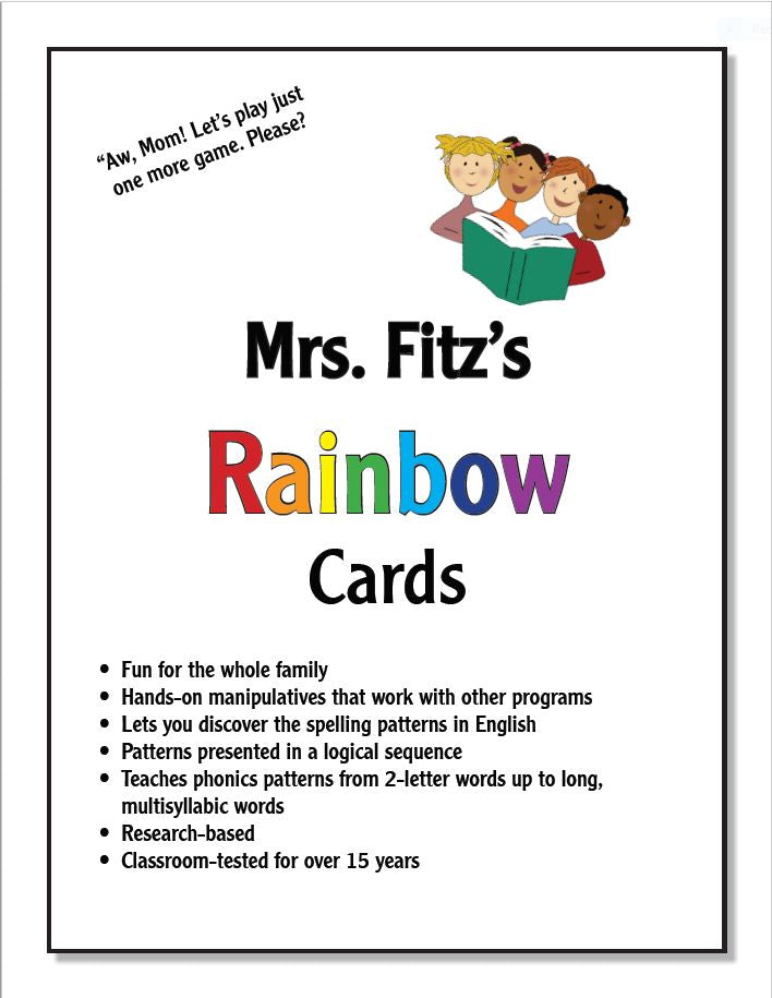 Rainbow Cards ( Introductory Set 1)