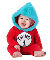 Baby Thing 1 and Thing 2 Dr. Seuss