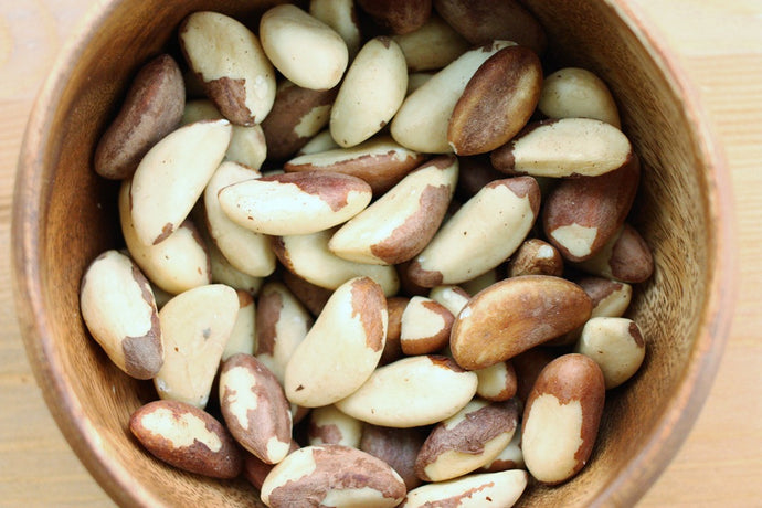 Brazil Nuts, Raw, Whole, No Shell 1 Lb.