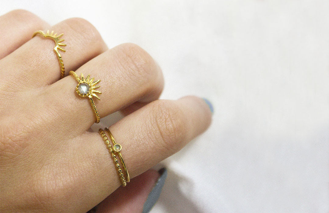 Add gold vermeil to your hand