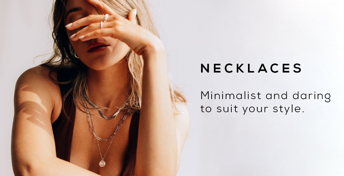 Minimalist and daring to suit your style.