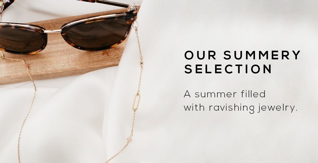 wellDunn jewelry summery selection. Let your summer be filled with ravishing Canadian-made jewelry.