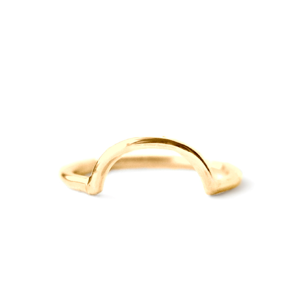 Rings - Loop - Gold • wellDunn jewelry — Handmade in Montreal