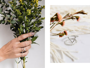Rings - Mia • wellDunn jewelry — Handmade in Montreal