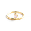 Mounia - Gold vermeil ring