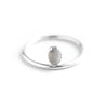 Perlock | Sterling Silver XL Beaded Ring