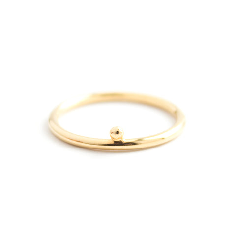 Kite | Diamond Shape Ring — Gold Vermeil