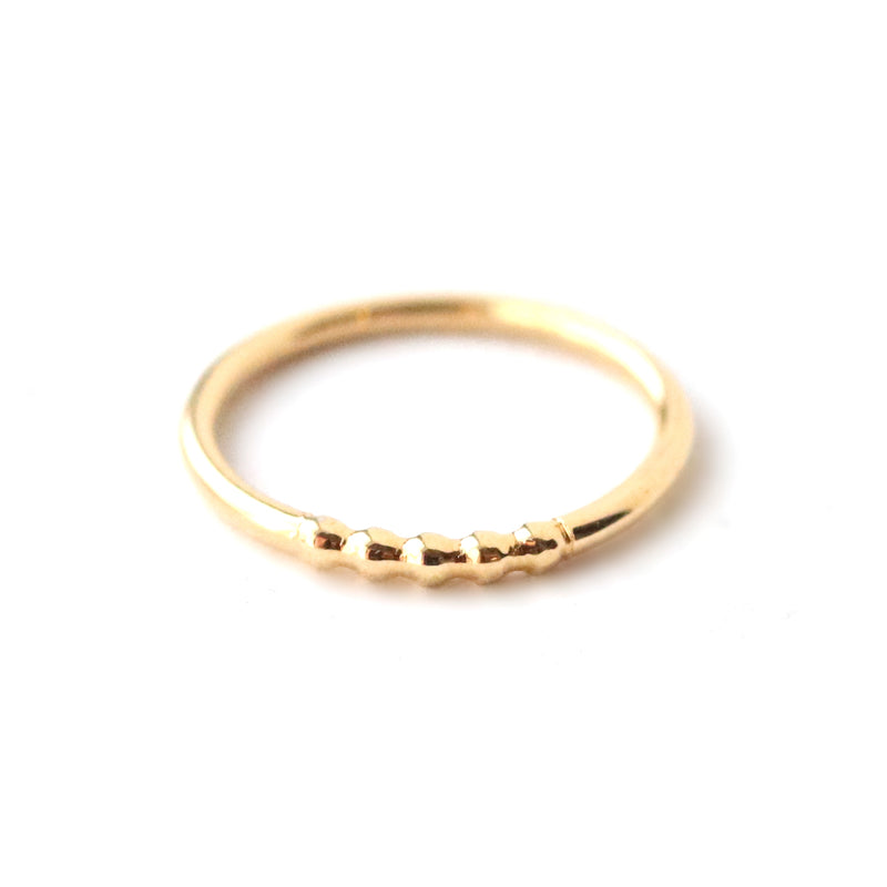 Rings - Sierra - Gold • wellDunn jewelry — Handmade in Montreal