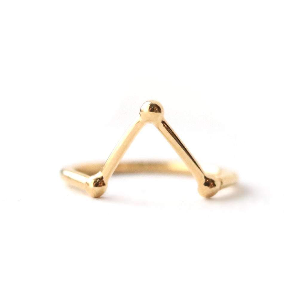 Rings - Trinity - Gold • wellDunn jewelry — Handmade in Montreal