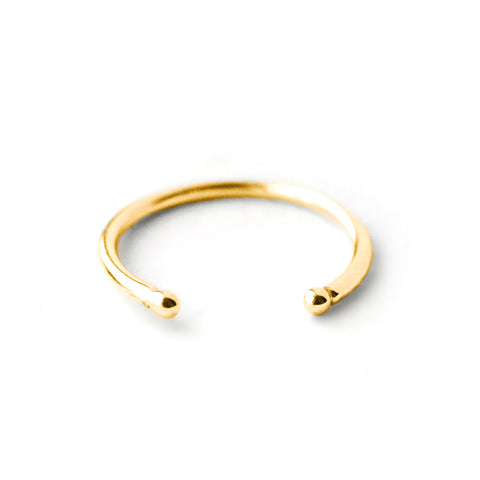 Pera | Gold Vermeil Moonstone Ring