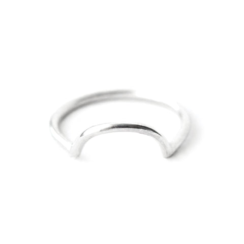 Mounia | Sterling Silver Moonstone Ring