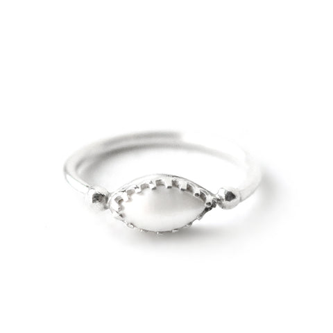 Bacchus | Sterling Silver Dotted Ring