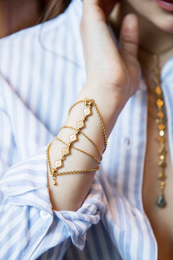 Bracelets - Lucile • wellDunn jewelry — Handmade in Montreal