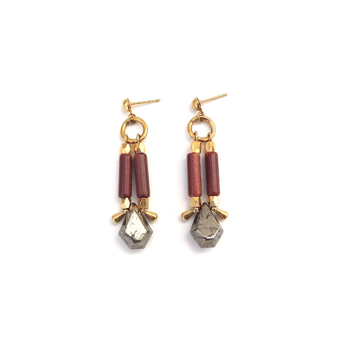 Earrings - Villette • wellDunn jewelry — Handmade in Montreal