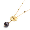 Necklaces - Akoya - Gold • wellDunn jewelry — Handmade in Montreal