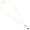 Hamseye | Gold Layered Evil Eye Necklace
