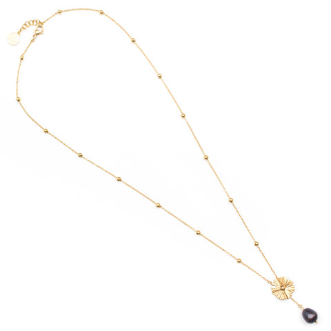 Odile | Gold Layered Delicate Necklace