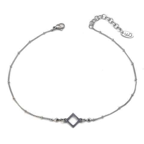 Celeste | Silver Layered Necklace