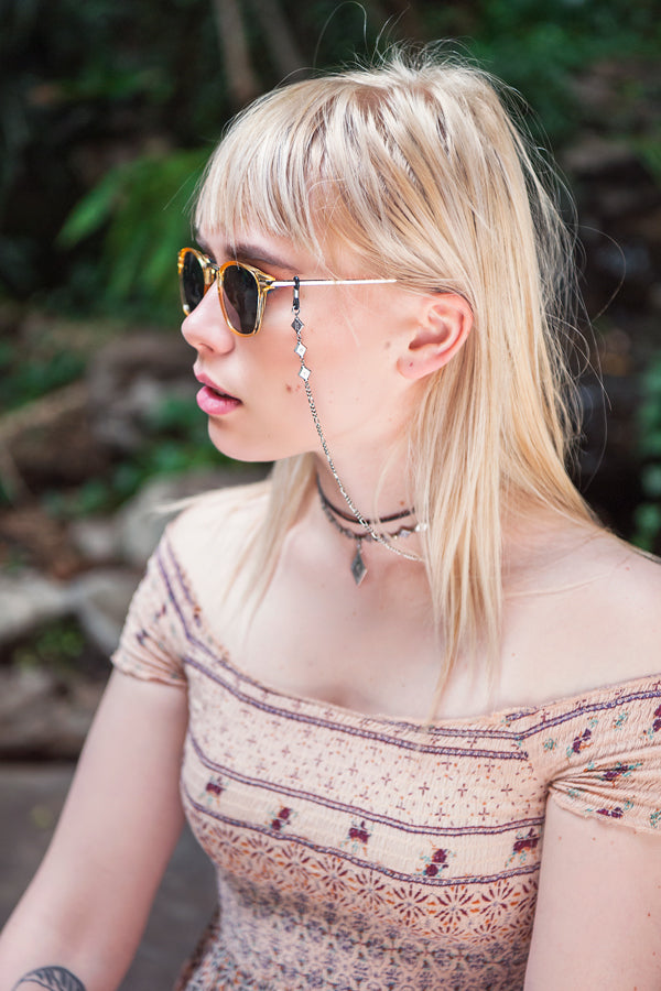 Sunglasses Chains - Gafas • wellDunn jewelry — Handmade in Montreal