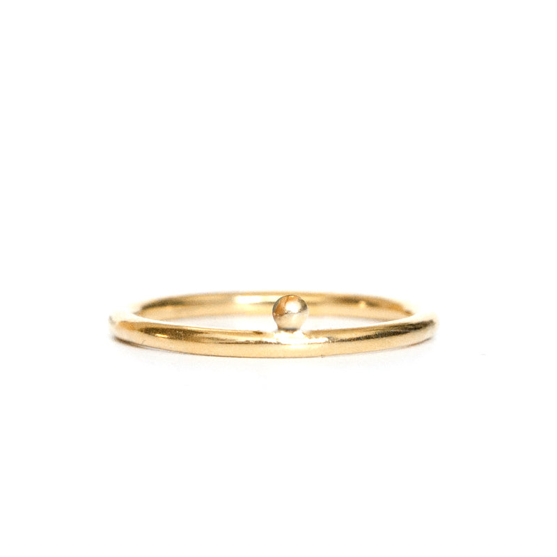 Rings - Boulay - Gold • wellDunn jewelry — Handmade in Montreal