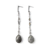 Akumal | Silver Nacre Statement Earrings