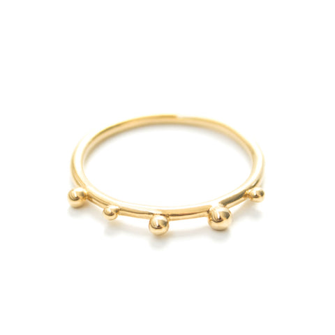 Kolam | Gold Vermeil Looped Ring