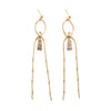 Psyche | Gold Chandelier Earrings