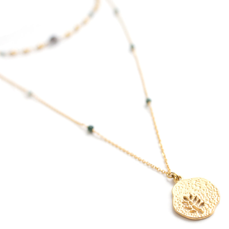 Necklaces - Fern • wellDunn jewelry — Handmade in Montreal
