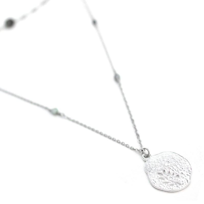 Fern | Silver Layered Necklace