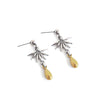 Earrings - Fly • wellDunn jewelry — Handmade in Montreal
