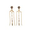 Earrings - Fork • wellDunn jewelry — Handmade in Montreal