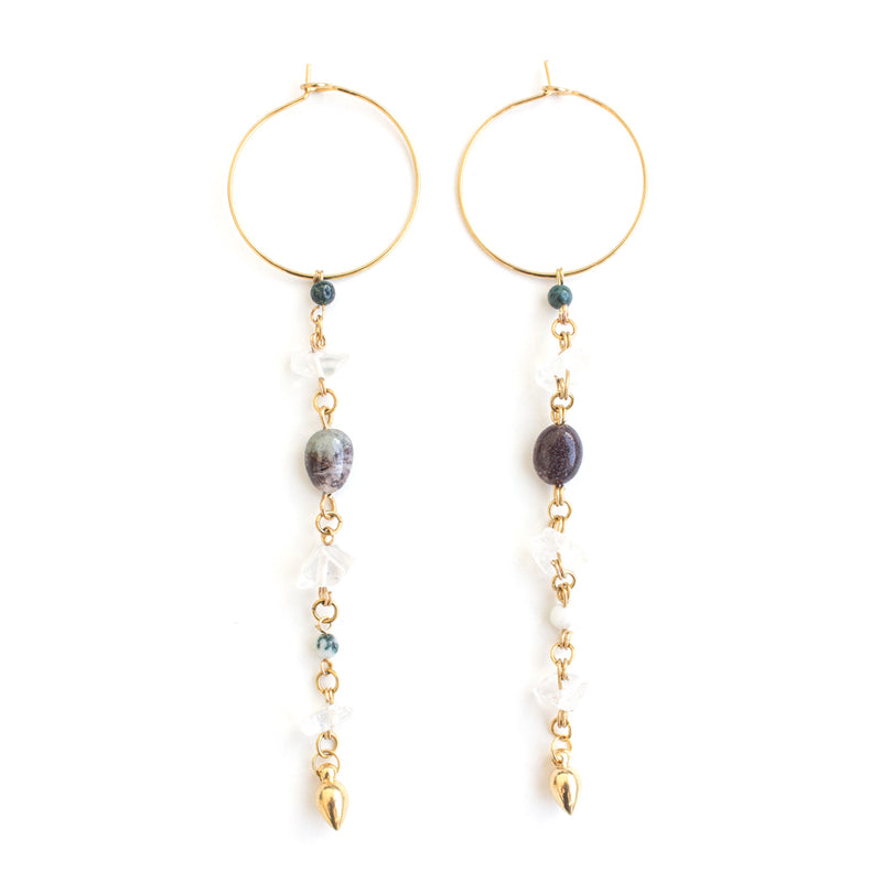 Earrings - Joya • wellDunn jewelry — Handmade in Montreal