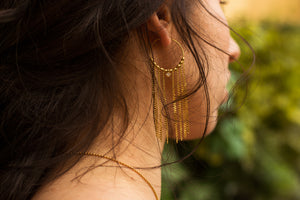 Earrings - Katcher • wellDunn jewelry — Handmade in Montreal