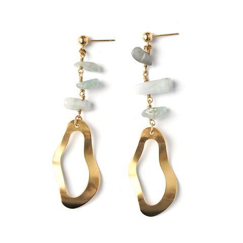 Sarco | Gold Coins & Links Earrings