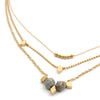 Necklaces - Nadir - Gold • wellDunn jewelry — Handmade in Montreal