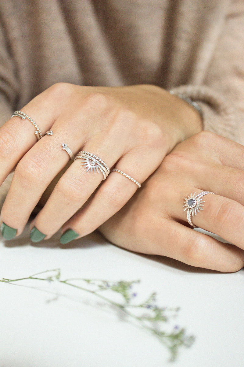 Rings - Nazar • wellDunn jewelry — Handmade in Montreal