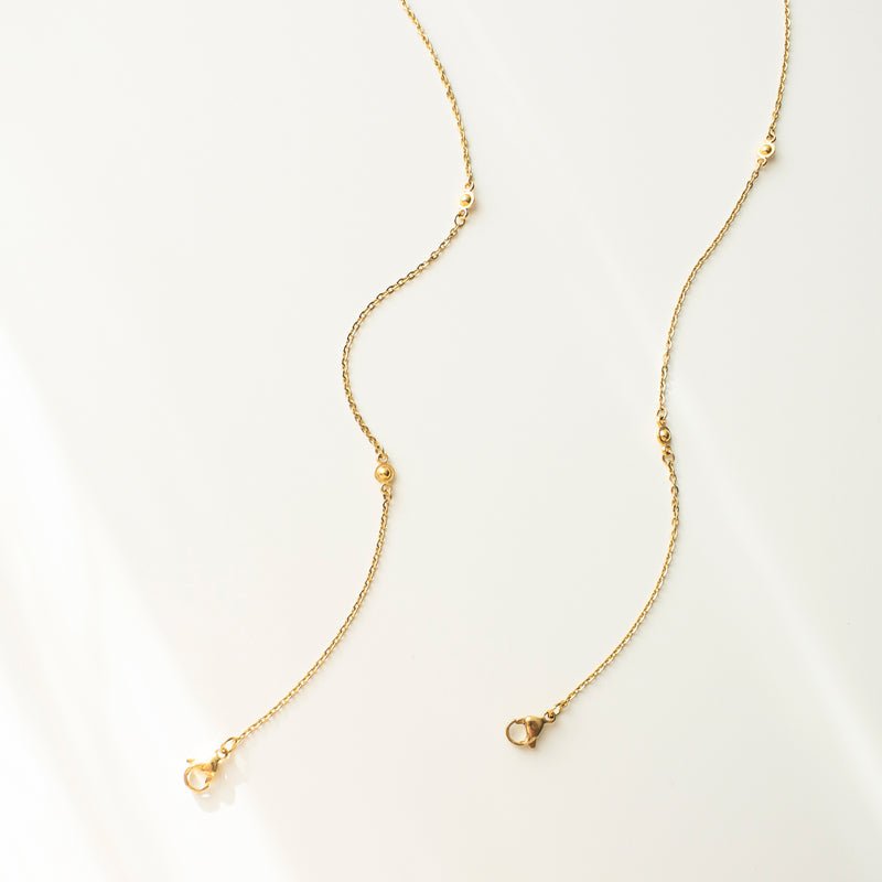 Osiris | Gold Mask Chain & Cotton Mask Set
