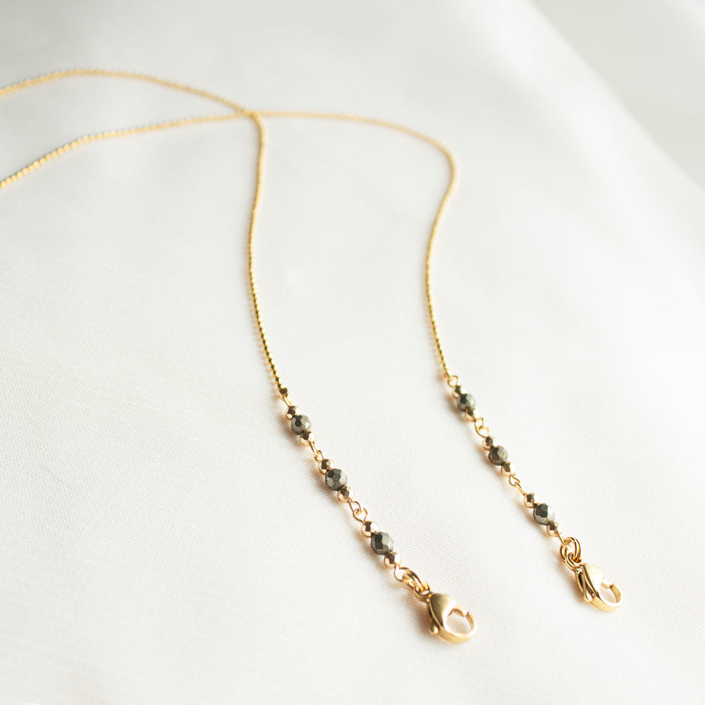 Glasses Chains - Pastor • wellDunn jewelry — Handmade in Montreal