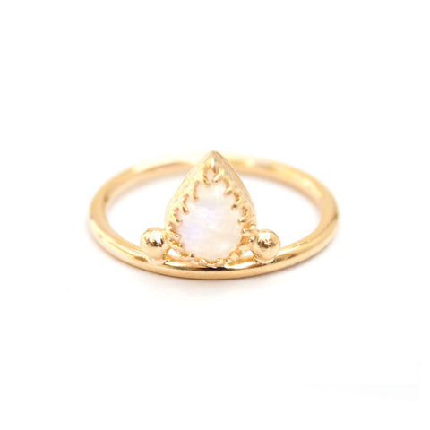 Alexe | X Ring — Gold Vermeil
