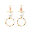 Navi | Gold Short Earrings