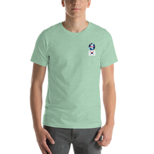 SOUTH KOREA Travellers Logo....Short-Sleeve..... Unisex.... T-Shirt