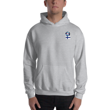 FINLAND Travellers Logo....Hooded Sweatshirt