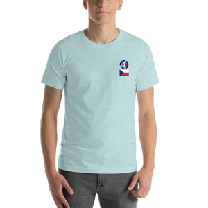 CZECH REPUBLIC Travellers Logo....Short-Sleeve.... Unisex.... T-Shirt