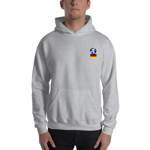 GERMANY Travellers Logo ....Hooded Sweatshirt